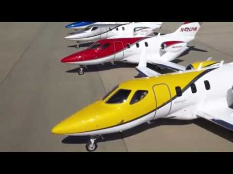 $4M HondaJet - Interior/Exterior & Facts | Private Jets | AV