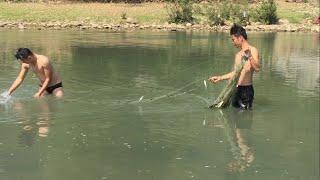 Thả Lưới Bắt Cá Suối Nậm So || TVN Lai Châu