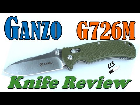 🗡 Review of the Ganzo G726M.  Is This the EDC Knife for You?
