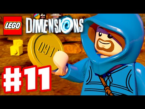 LEGO Dimensions - Gameplay Walkthrough Part 11 - Midway Arcade! (PS4, Xbox One)