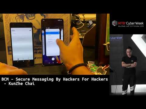 #HITBCyberWeek BLOCKCHAIN HIGHLIGHT - BCM Secure Messaging By Hackers For Hackers - KunZhe Chai