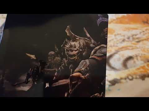 middle earth shadow of war silver edition unboxing xbox one