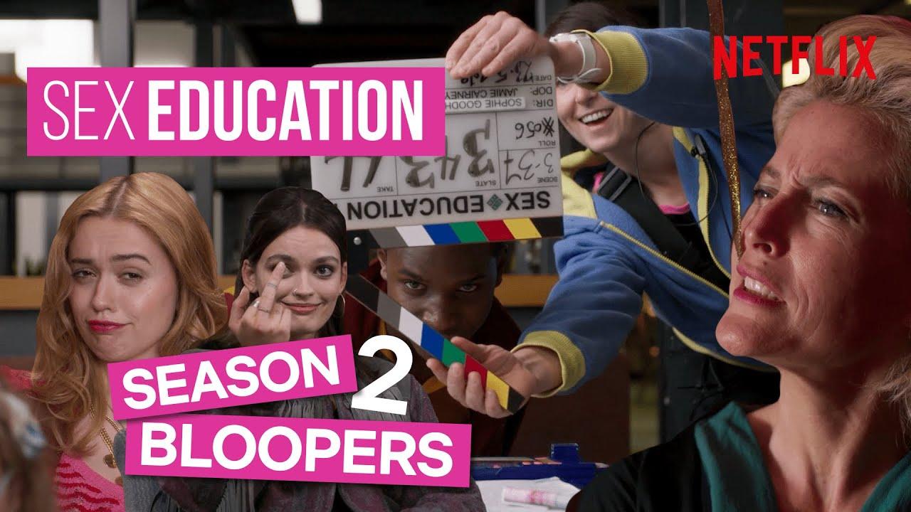 Sex Education Season 2 Bloopers