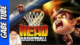 Top Toys BASKETBALL HEAD GAME Brothers Shoot To See Who Got Hoops Gabe Tube TV
