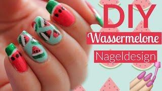 DIY WASSERMELONE SOMMER NÄGEL🍉🍉I Nageldesign I Tutorial deutsch I #holosexual I ellylicious♡