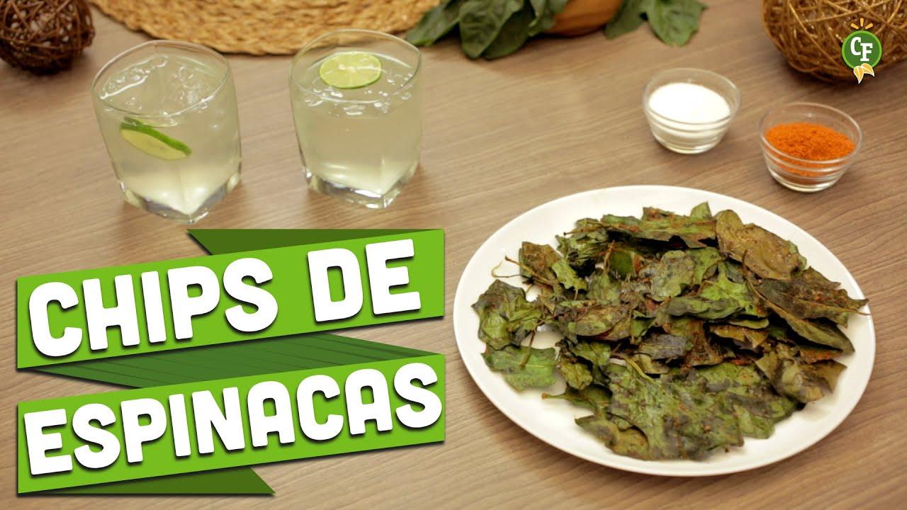 C mo preparar chips de espinacas cocina fresca youtube for Espinacas como cocinarlas