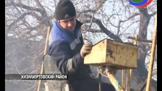 В Кизилюртовском районе продолжается кампания по благоустройству дорог