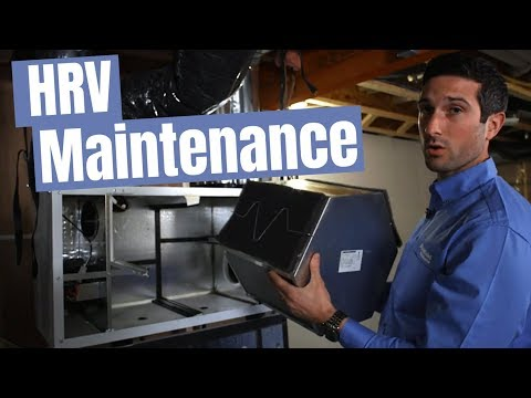 HRV Maintenance: How to use and maintain a heat recovery ventilation system