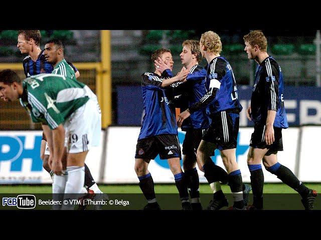 2004-2005 - Beker Van België - 04. Kwartfinale - La Louvière - Club Brugge 2-3