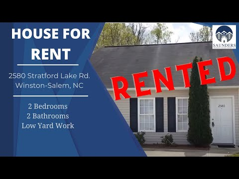 Winston-Salem Homes for Rent 2580 Stratford Lake Rd. Winston-Salem NC