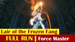 [ BLADE & SOUL ] Lair of the Frozen Fang : Force Master | Full Run