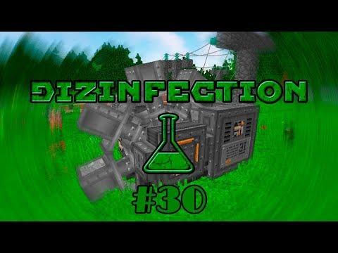 DiZInfection #30 - ЭКСКАВАТОР И СТАЛЬ ИЗ ВТОРСЫРЬЯ - майнкрафт сборка 1.12.2 с модами