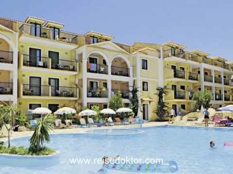 Urlaub Zakynthos 3 Hotel Strofades Beach Nah Am Strand Youtube