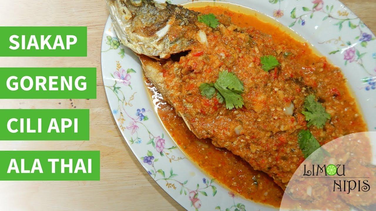 Download SIAKAP GORENG CILI API ALA THAI