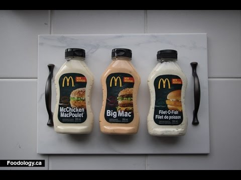 Review: Big Mac, McChicken And Filet-O-Fish Sauce