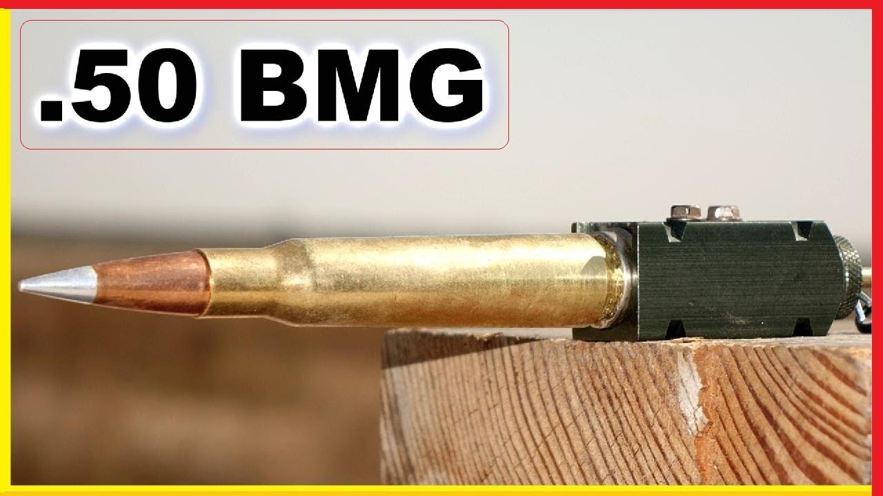 Download .50 BMG Shell exploding OUTSIDE a gun - What Happens?