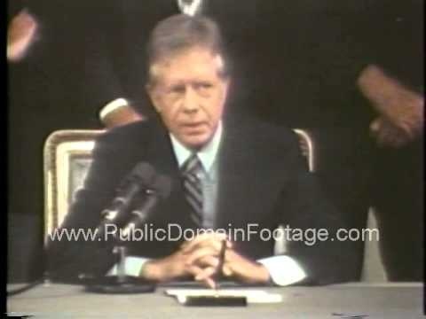 Jimmy Carter SALT II Treaty signing June 18 1979 archival footage