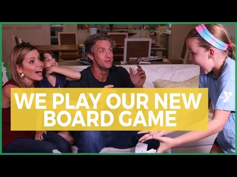 Time to play Family Showdown (our board game) | The Holderness Family