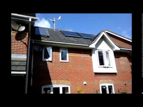 Solar Central Heating and Hot Water Multi Fuel systems - YouTube