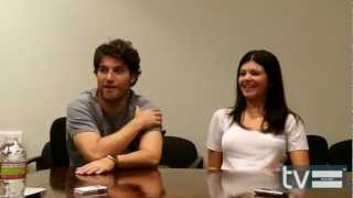 Happy Endings Season 3: Adam Pally & Casey Wilson