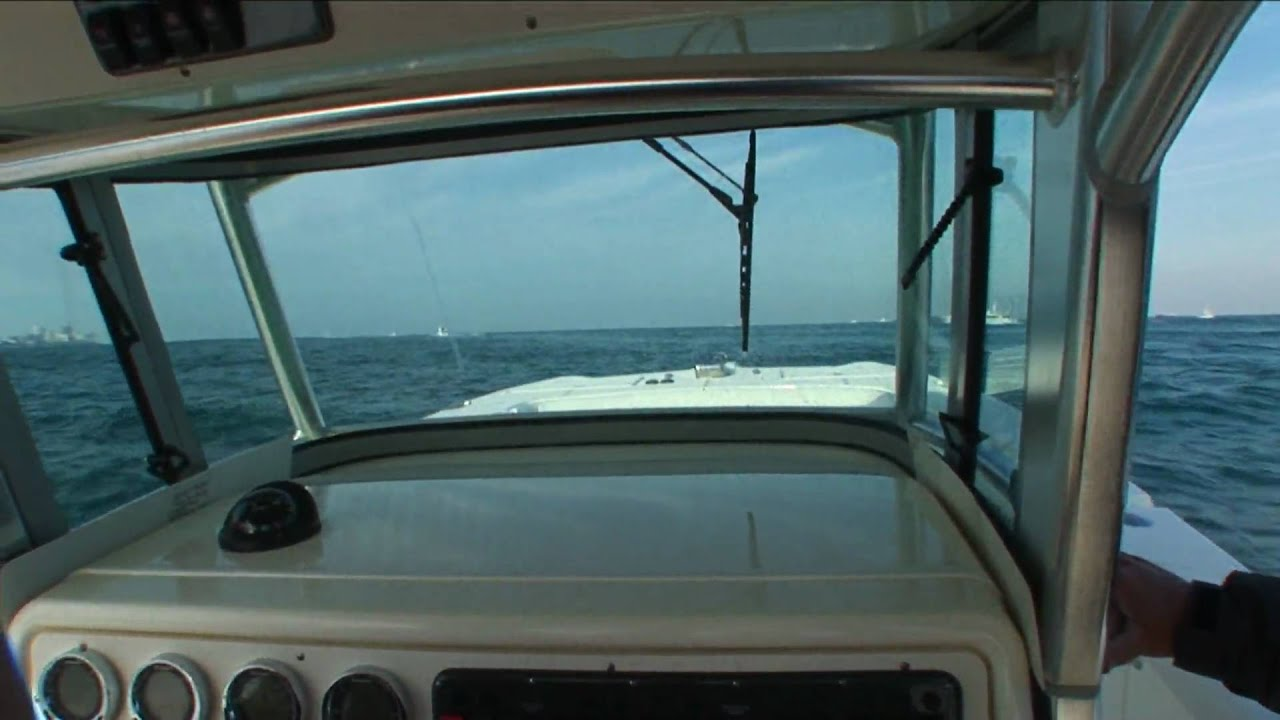 Trim properly and a following sea is no problem