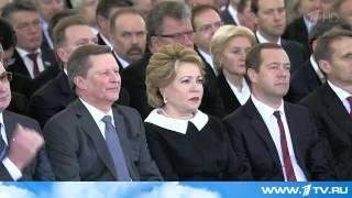Один Аллах знает, зачем они это сделали- Сказал В  Путин в послании народу России