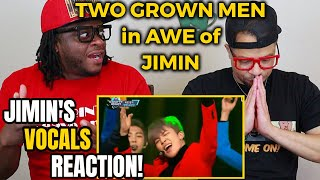 The BTS JIMIN Best Live HIGH NOTES & RASPY VOCALS Reaction You've Always Wanted!!