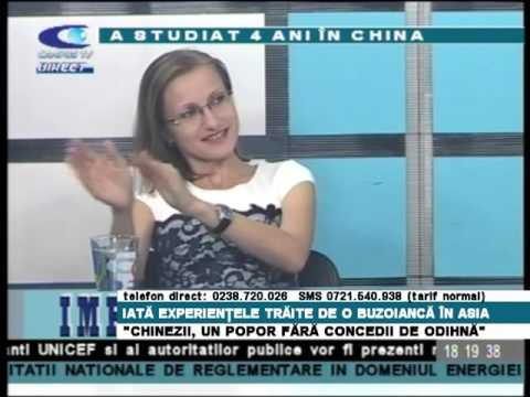 Victoria Lupascu (Campus TV, Romania) - first part