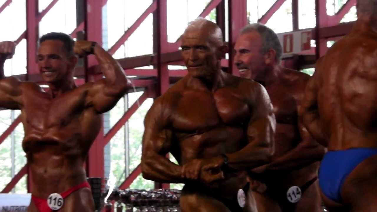 amateur Masters bodybuilding world