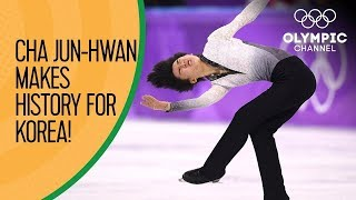 Cha Jun-hwan the first Korean male skater to qualify for the Grand Prix final | Exclusive Interview