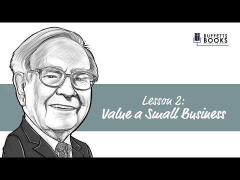 2. Value a Small Business like Warren Buffett