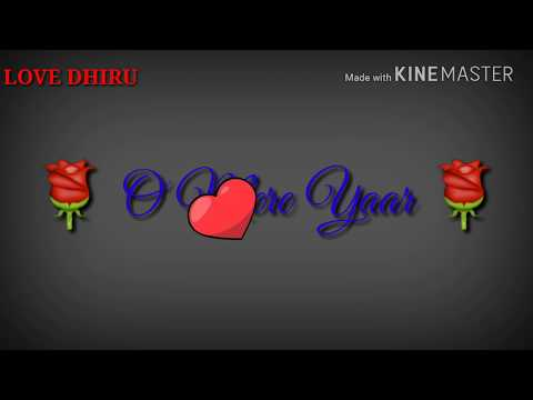 New Very Sad Whatsapp Status for sad love story 🌹Dil Mein Mohabbat Hain🌹  !! Ha Paheli Bar !!