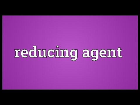 Reducing agent Meaning