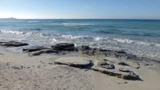 Wandern Mallorca - Platja des Trenc von ses Covettes