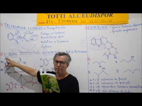 Aula 276. 2 - L Dopa forma Dopamina