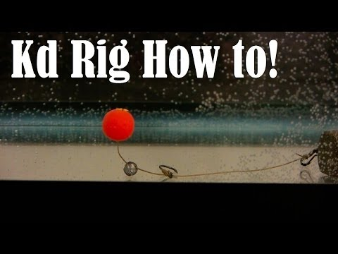 KD RIG HOW TO TUTORIAL FOR CARP FISHING