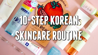 10-STEP KOREAN SKINCARE ROUTINE - CHARLOTTE CHO SOKO GLAM + MY FAVOURITE PRODUCTS | Carly Musleh
