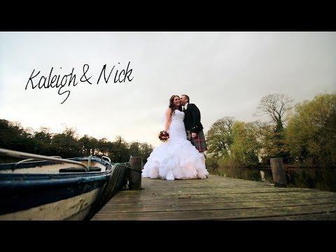 Broxmouth Park wedding - Kaleigh & Nick