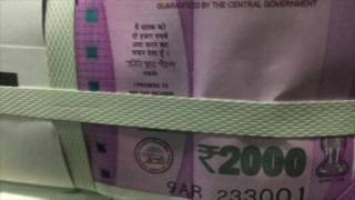 RBI New Note See Rs 2000 and old 500 and 1000 Note Ban:the surgical strike to fight corruption