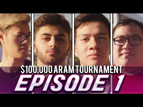 $100,000 ARAM TOURNAMENT l Episode 1 l  ft. Yassuo, WildTurtle, Scarra, & Shiphtur