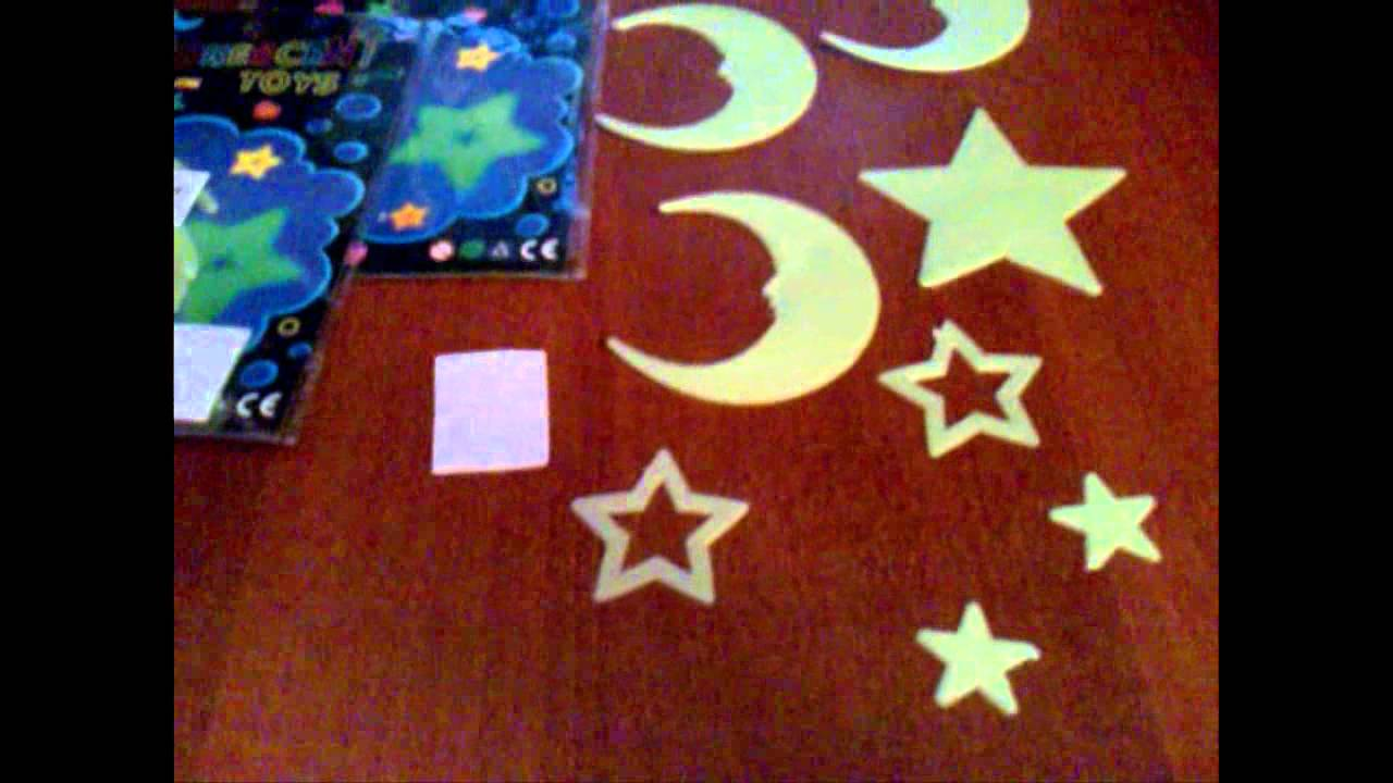 2 packs adhesive fluorescent toys night ray glowing stickers in 2 packs adhesive fluorescent toys night ray glowing stickers in dark decorative for wall bedroom moon and star shape hds 42346
