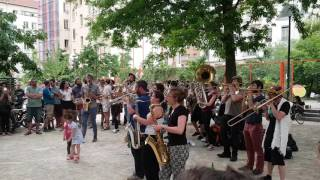 French Brass Band plays Time is running out (Muse cover)