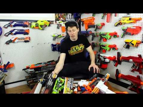 35. Unboxing NERF Guns   Star Wars, DualStrike, Vagabond, Chiron!
