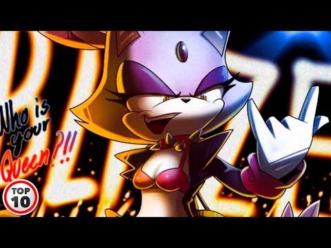 Top 10 Sexiest Sonic Girls