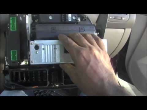 Radio removal in 2002 Honda Civic amp Sony CD receiver