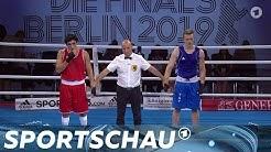 Die Finals - Boxen: Das Finale im Schwergewicht der Männer | Sportschau
