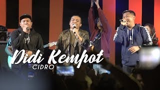 Didi Kempot - Cidro Ft Om Wawes & Bagus Guyon Waton (Live at Tebing Breksi)