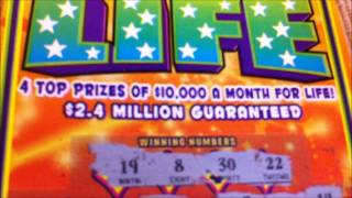 WINNER: PA Lottery $5 Lucky for Life