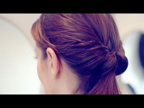 Peinados coleta invertida