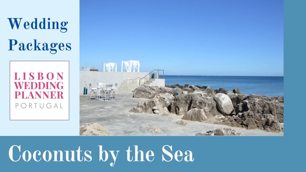 Coconuts by the Sea Wedding Packages by Lisbon Wedding Planner
